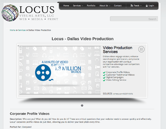 Dallas_Video_Production___Locus_Visual_Arts